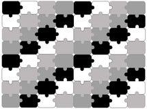 Fundo abstrato do enigma Ilustração Stock