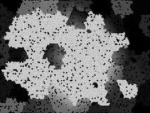 Fundo abstrato do enigma Papel de parede colorido da textura do respingo artwork ilustração stock