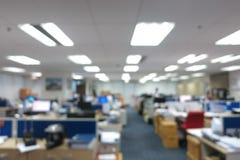 Fundo abstrato do escritório do borrão Imagem de Stock