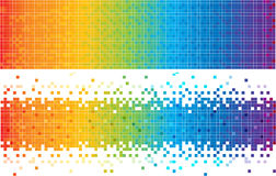 Fundo abstrato do espectro ilustração do vetor