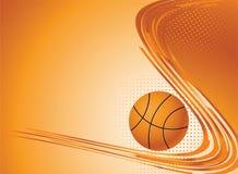 Fundo abstrato do esporte. ilustração stock