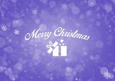 Fundo abstrato do Feliz Natal Fotografia de Stock Royalty Free