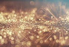 Fundo abstrato do feriado com fogos-de-artifício Foto de Stock Royalty Free
