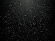 Fundo abstrato do floco de neve Queda da neve com monte de neve ilustração royalty free