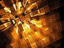 Fundo abstrato do fractal - imagem digitalmente gerada ilustração royalty free