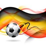 Fundo abstrato do futebol ilustração do vetor