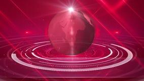 Fundo abstrato do globo ilustração royalty free