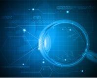 Fundo abstrato do globo ocular Imagem de Stock