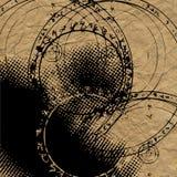 Fundo abstrato do gráfico do grunge da arte ilustração royalty free