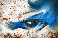 Fundo abstrato do graffity Fotos de Stock