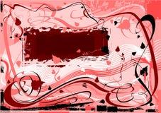 Fundo abstrato do grunge ilustração do vetor