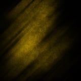 Fundo abstrato do Grunge escuro e amarelo Fotos de Stock