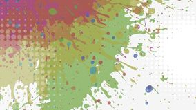 Fundo abstrato do grunge, vetor Imagens de Stock