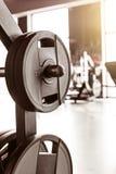 Fundo abstrato do gym da aptidão do borrão imagem de stock royalty free