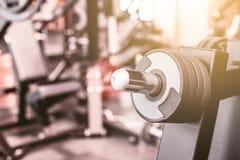 Fundo abstrato do gym da aptidão do borrão imagens de stock royalty free
