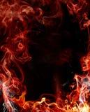Fundo abstrato do incêndio ilustração stock