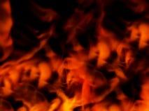 Fundo abstrato do incêndio fotografia de stock royalty free