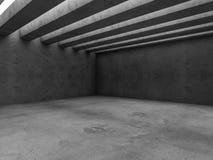 Fundo abstrato do interior da arquitetura 3d Imagens de Stock