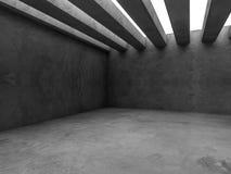 Fundo abstrato do interior da arquitetura 3d Imagens de Stock Royalty Free