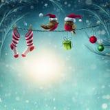 Fundo abstrato do inverno Imagem de Stock