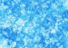 Fundo abstrato do inverno Imagens de Stock Royalty Free