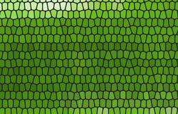 Fundo abstrato do mosaico da cor Verde Ilustração Stock