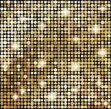 Fundo abstrato do mosaico do ouro Fotografia de Stock Royalty Free
