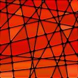 Fundo abstrato do mosaico do vidro colorido do vetor Imagem de Stock