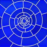 Fundo abstrato do mosaico do vidro colorido do vetor Imagens de Stock