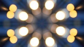 Fundo abstrato do movimento do caleidoscópio vídeos de arquivo
