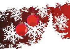 Fundo abstrato do Natal Fotos de Stock