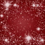 Fundo abstrato do Natal imagem de stock