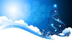Fundo abstrato do Natal fotografia de stock