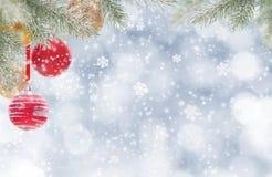 Fundo abstrato do Natal foto de stock