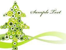 Fundo abstrato do Natal Fotos de Stock Royalty Free