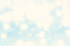 Fundo abstrato do Natal com ligh festivo mágico de incandescência Imagem de Stock