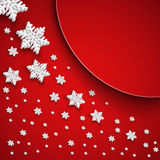 Fundo abstrato do Natal da ilustra? Foto de Stock Royalty Free