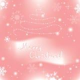 fundo abstrato do Natal do vetor Imagem de Stock