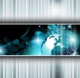 Fundo abstrato do negócio da alta tecnologia Fotos de Stock