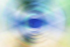 Fundo abstrato do olho Foto de Stock Royalty Free