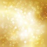 Fundo abstrato do ouro Foto de Stock Royalty Free