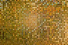 Fundo abstrato do ouro para o teste padrão ou o cartão do Web site Imagens de Stock Royalty Free