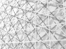 Fundo abstrato do papel de parede dos quadrados brancos Fotografia de Stock
