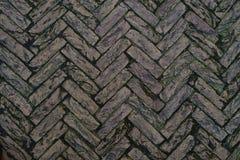 Fundo abstrato do pavimento velho da pedra do granito pavimentar fotos de stock