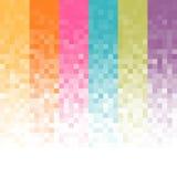 Fundo abstrato do pixel Imagens de Stock