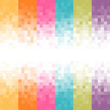 Fundo abstrato do pixel Fotos de Stock