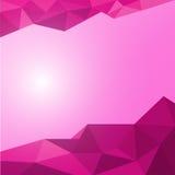 Fundo abstrato do polígono do vetor Fotografia de Stock Royalty Free