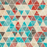 Fundo abstrato do projeto do triângulo Imagem de Stock