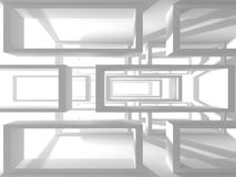 Fundo abstrato do projeto moderno da arquitetura Imagens de Stock