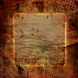 Fundo abstrato do quadro do grunge Foto de Stock